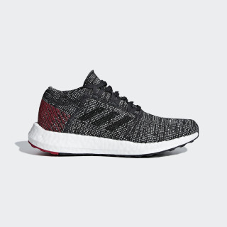 Zapatillas PureBOOST GO J CARBON/CORE BLACK/POWER RED B43505