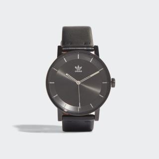 DISTRICT_L1 Horloge Black / Silver Met. CJ6331