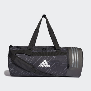 Core Duffel Bag Black / Grey Four / White CY7008