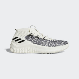 Dame 4 Shoes Cloud White / Crystal White / Core Black AQ0597