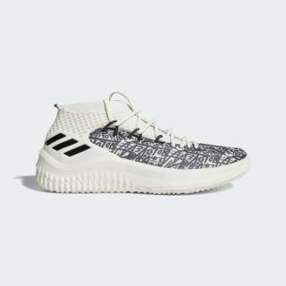 Sapatos Dame 4 Cloud White / Crystal White / Core Black AQ0597