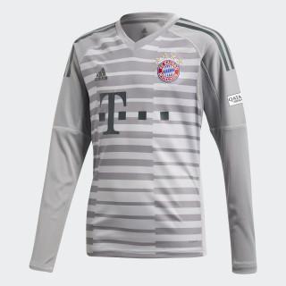 FC Bayern Goalkeeper Jersey Grey One / Light Granite / Utility Ivy DQ0705