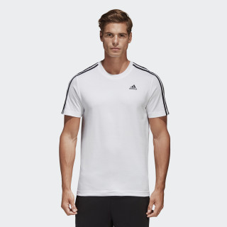 Camiseta Essentials 3-Stripes WHITE S98716