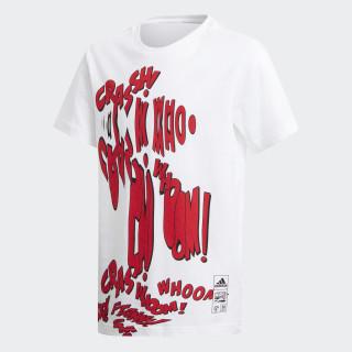 Camiseta Mixed Marvel WHITE DM7771