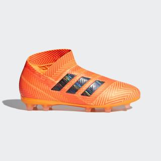 Nemeziz 18+ FG Fußballschuh Zest / Core Black / Solar Red DB2347