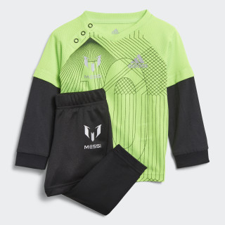 Mini Me Messi Set Solar Green / Black / Reflective Silver DJ1567
