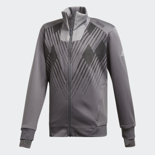 Predator Trainingsjacke Grey Five / White DJ1246