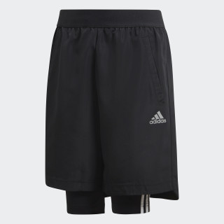 Football Two-in-One Shorts Black / Grey Five DJ1256