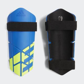 Protège-tibias X Lite Football Blue / Black / Solar Yellow CW9718