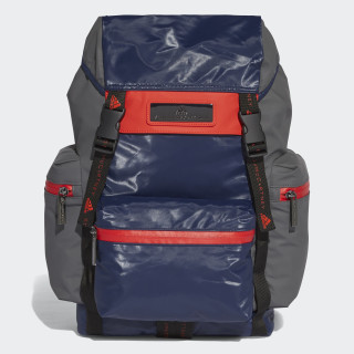Medium Backpack Night Indigo / Granite / Core Red DM3445