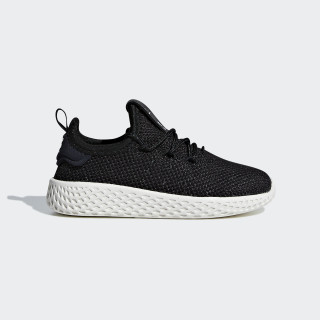 Pharrell Williams Tennis Hu Shoes Core Black / Core Black / Chalk White CM8554