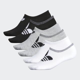 Chaussettes invisibles Trefoil (6 paires) White CJ7666