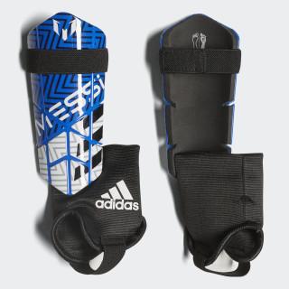 Messi 10 Shin Guards Football Blue / White / Black CW9705