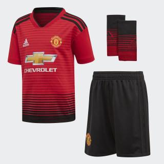 Miniconjunto primera equipación Manchester United Real Red / Black CG0058