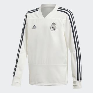 Haut d'entraînement Real Madrid Core White / Tech Onix CW8665