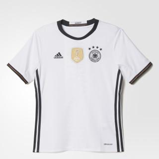 Maglia Home UEFA EURO 2016 Germany White/Black AA0138