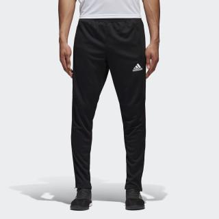 Spodnie Tiro17 Training Pants Black/White BK0348