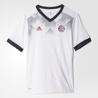 FC Bayern Múnich Camiseta Local Prepartido WHITE/DGH SOLID GREY BP9177