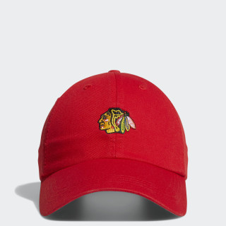 Casquette Blackhawks Dad Adjustable Slouch Red BZ6803