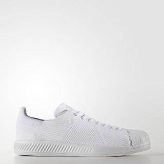 Superstar Primeknit Shoes Cloud White / Cloud White / Cloud White S82240
