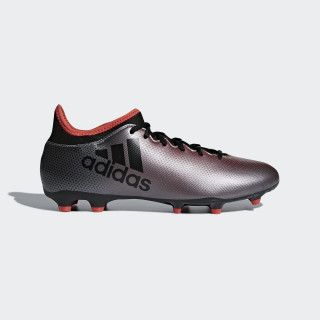 X 17.3 Firm Ground Boots Grey/Core Black/Real Coral DB1402