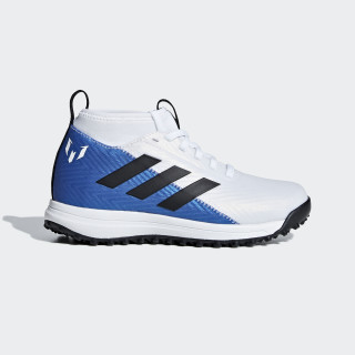 RapidaTurf Messi Shoes Ftwr White / Core Black / Blue AH2416