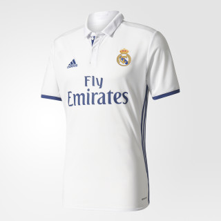 Real Madrid Home Jersey Crystal White/Raw Purple S94992