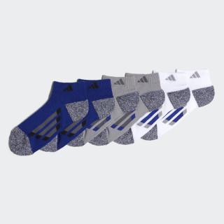 Vertical Stripe Low-Cut Socks 6 Pairs Multicolor CK0504