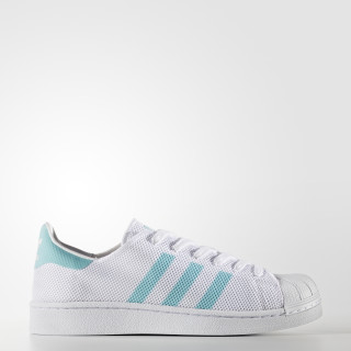 Superstar Shoes Cloud White / Easy Mint / Cloud White BA7137