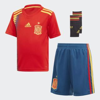 Mini ensemble Espagne Domicile Red / Bold Gold BR2706