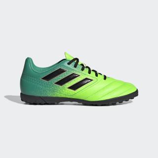 Calzado de Fútbol ACE 17.4 Pasto Sintético SOLAR GREEN/CORE BLACK/CORE GREEN BB1064