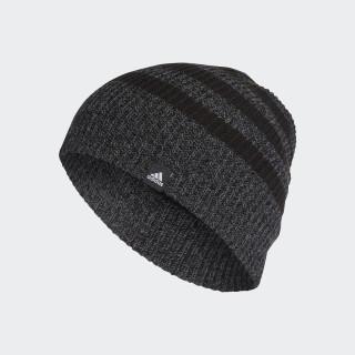 3-Streifen Mütze Black/Black/White BR9927