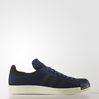 Superstar 80s Primeknit Shoes Collegiate Navy/Core Black/Onyx BZ0126