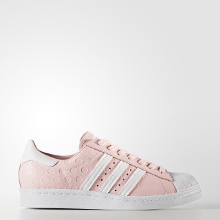 Sapatos Superstar 80s Icey Pink/Footwear White/Footwear White BY9073