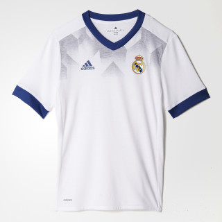 Real Madrid Home Pre-Match Jersey White/Raw Purple BP9172