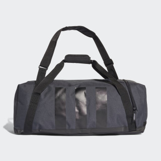 3-Stripes Medium Duffel Grey / Black / Scarlet BC2246