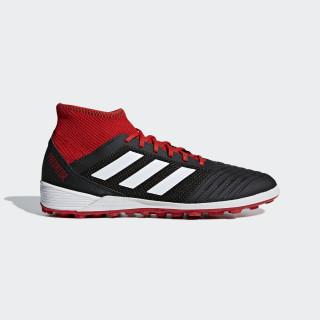 Predator Tango 18.3 Turf Voetbalschoenen Core Black / Ftwr White / Solar Red DB2135
