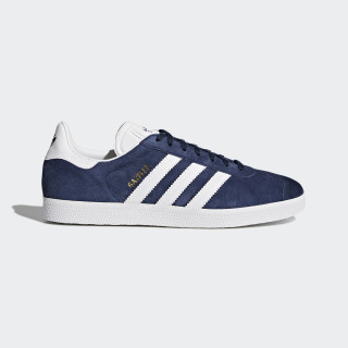 Scarpe Gazelle Collegiate Navy/White/Gold Metallic BB5478