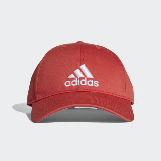Gorra Classic Six-Panel TRACE SCARLET S18/TRACE SCARLET S18/WHITE CF6914