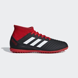 Calzado de Fútbol Predator Tango 18.3 Césped Artificial Niño CORE BLACK/FTWR WHITE/RED DB2330