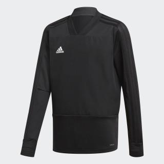 Camiseta manga larga entrenamiento Condivo 18 Player Focus Black/White CG0389