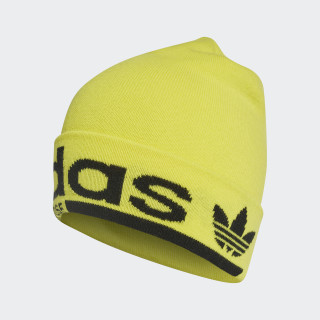 Logo Beanie Shock Yellow / Black DM1688
