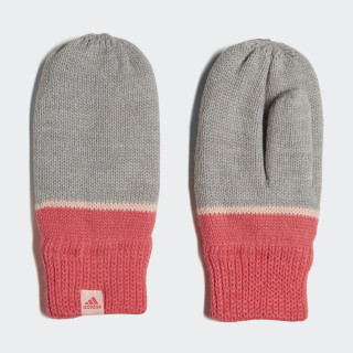 Stripe Mittens Medium Grey Heather / Super Pink / Haze Coral DJ2277
