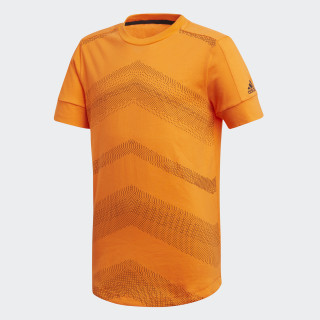 Playera ID Lightweight ORANGE/BLACK CF6402