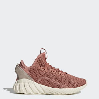 Tubular Doom Sock Primeknit Shoes Raw Pink / Raw Pink / Grey BY9336