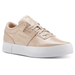 Workout Lo Shiny Suede / Bare Beige / White CN3564