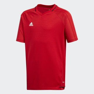 Maglia Tiro 17 Training Scarlet/Black/White BP8561