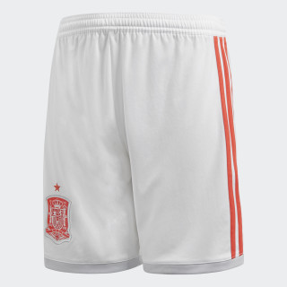 Spain Away Shorts White/Bright Red/Halo Blue BR2690