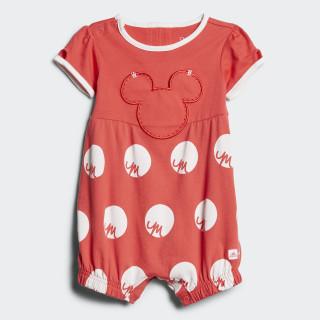 Macacão Disney Mickey Mouse Core Pink/White CE9813