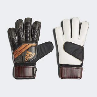 Predator 18 Fingersave Replique Gloves Black/Solar Red/Copper Gold CF1358